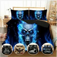 nautical skull sea themed bedding set