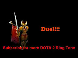 dota 2 legion commander ringtone youtube
