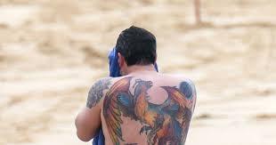Affleck Massive Was He 'fake Off Shows Said Tattoo Back Ben tqAwHq