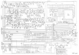 uniden hr2510 service manual hr2510 schematic diagram page 1
