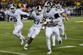 Image result for pics of a blocker leading a player to ta touchdown