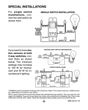 sl 6107 wiring brown zenith wh heath motion activated wall switch 2013 Mini Cooper Wiring Diagram Cooper 6107 Wiring Diagram #34