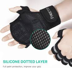 FREETOO Protective Weight Lifting Gloves with 0.16 EVA Padded ...
