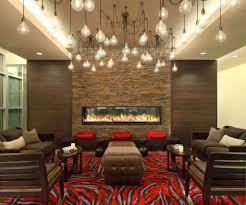 types of interior lighting. Living Room With Sofas And Fireplace Also Multiple Pendants : The Types Of Interior Lighting Fixtures L