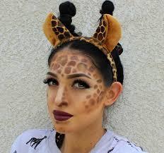 giraffe fancy dress makeup