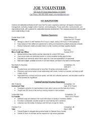 resume order of jobs resume warehouse associate resume