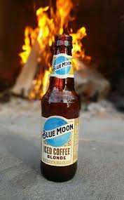 The aroma is of wheat, clover honey, and light coffee. Fire Ice Blue Moon Iced Coffee Blonde Beerporn
