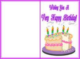 Happy Birthday Cards To Print Happy Holidays