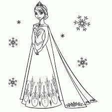 25 Printen Elsa Frozen Kleurplaat Mandala Kleurplaat Voor Kinderen