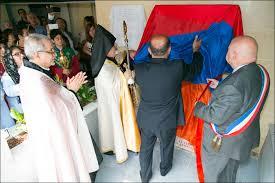 Galerie photos de l'inauguration du Khatchkar