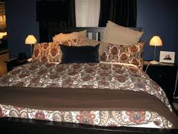 small size of chocolate brown super king duvet covers brown reddish damask print ikea duvet cover