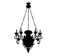 unique chandelier fearsome silhouette clip art pictures inspirations for crystal chandelier silhouette