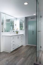 wood tile flooring in bathroom. Cool Modern Bathroom Update With Porcelain Wood Tiles An Inviting Home On Tile Flooring In