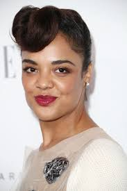 Red Carpet Hairstyles 28 Awesome Tessa Thompson's Retro Updo At Elle's Women In Hollywood Celebration