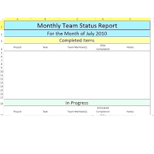 Production Reporting Templates Monthly Production Report Template Excel Monthly Project Report Ppt