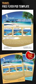300 Best Travel Flyer Templates Free Premium