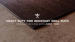 Heavy Duty Fire Resistant Grill Mat All Things Bbq