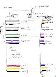 pioneer car radio wiring color diagram wiring diagram \u2022 car stereo wiring diagrams free pioneer car radio wiring painting writing the names and function of rh ccert info pioneer avh p4100dvd wiring diagram pioneer cd player wiring diagram