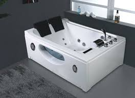 two person bathtubs for a romantic couple two person freestanding bathtub