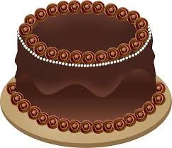 Decorated German Chocolate Cake German Chocolate Cake Clipart Clipartfest Clipart German