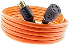 extension cords for portable generators nema l14 30 generator power cord 4 wire 10 gauge 125 250v 30 amp 20 feet