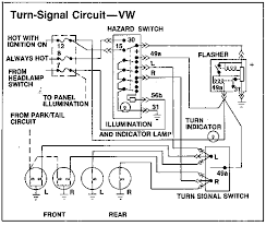wiring diagram for turn signal flasher the wiring diagram thesamba kit car fiberglass buggy view topic 2 prong wiring