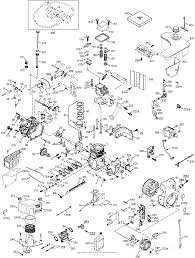 Tecumseh ohm90 222307c parts diagram for engine parts list 1