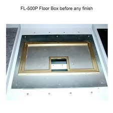 fsr fl 500p floor box without finish icon