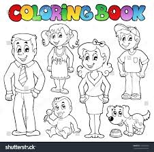 Coloring Family Coloring Book Astonishing Amazing Decoration