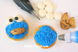 How To Decorate A Cookie Jar Cookie Jar Cake With Cookie Monster Cupcakes Blog Tutorial My 71