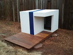 custom dog house  these dogs are going to live in style they'll