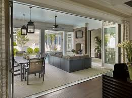 image of enclosing a porch with sliding glass doors