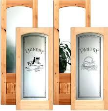 frosted glass pantry door prehung doors australia insert