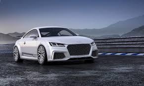 2014 Geneva: Audi surprises with a TT quattro sport concept at ...