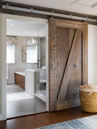 Ravishing Sliding Bathroom Barn Doors For Homes For Modern Bathroom As Well  As Vanities Also Glass Walk In Shower Room Designs