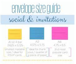 Envelope Size Guide Business And Invitation Envelopes Jam