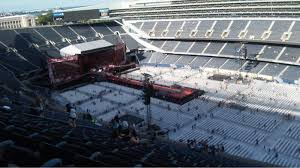 One Direction Soldier Field Seating Chart Soldier Field Section 432 Row 34 Home Of Chicago Bears