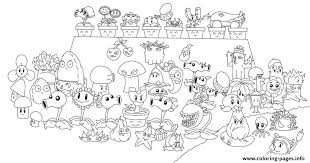 Small Picture Plants Zombies Coloring Pages Chomper Pvz All Line Art108751