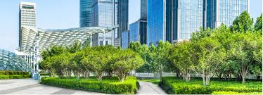 Office landscaping Village Garth Ruffner Landscape Architect Landscaping Ideas For Commercial Property Office Buildings More