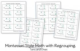 Free Montessori Style Addition Worksheets (Double-Digit Addition ...