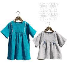 Blouse Sewing Pattern Stunning Sakura Blouse Dress Girl 4848 Paper Sewing Pattern Ikatee