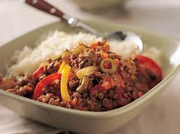 healthy ground beef recipes. Modren Recipes Healthy Picadillo With Ground Beef Recipes MyRecipes