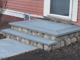 install flashing between masonry steps