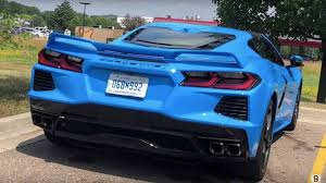2020 Jeep Colors Chart See All 12 Colors Of 2020 Corvette Stingray Compiled On Video