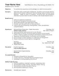 Warehouse Worker Resume Interesting Sample Resume For Warehouse Worker Arzamas