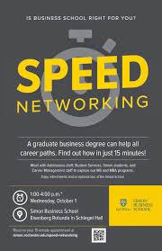 University Of Rochester Career Internship Digest Simon Speed