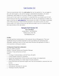 How To Make A Resume For A Call Center Job Inbound Call Center Job Description for Resume Best Of Entry Level 21