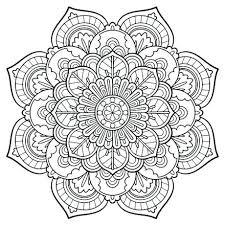 Mandala Coloring Pages Printable Mandala Coloring Pages Printable