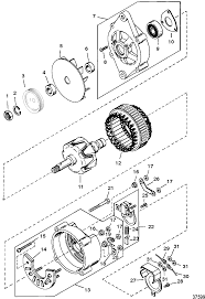 mando marine alternators wiring diagram mando wiring diagrams