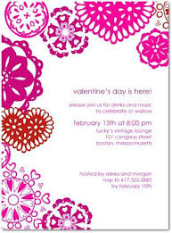 Class Valentines Party Invitation Heritagetrails Info